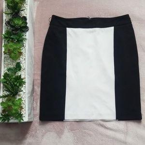 Worthington Black & White Dress Skirt
